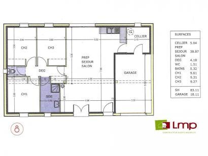 Maison neuve  à  La Verrie (85130)  - 183270 € * : photo 3
