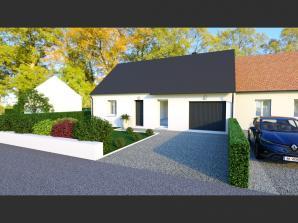 Maison neuve à Villaines-les-Rochers (37190)<span class='prix'> 165400 €</span> 165400