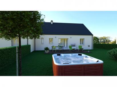 Maison neuve  à  Villaines-les-Rochers (37190)  - 165400 € * : photo 2