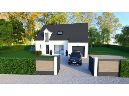 Maison neuve  à  Château-la-Vallière (37330)  - 238000 € * : photo 1