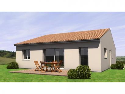 Maison neuve  à  La Chapelle-d'Aligné (72300)  - 149590 € * : photo 2