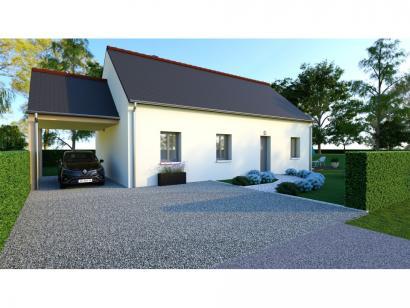 Maison neuve  à  Beaumont-la-Ronce (37360)  - 180000 € * : photo 1