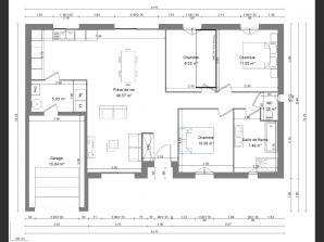 Maison neuve à Loches (37600)<span class='prix'> 171000 €</span> 171000