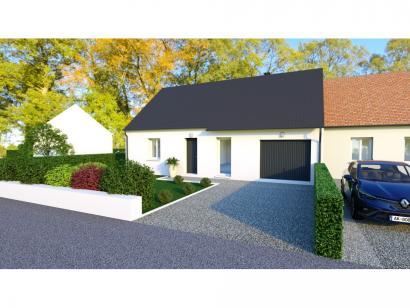 Maison neuve  à  Loches (37600)  - 153000 € * : photo 1
