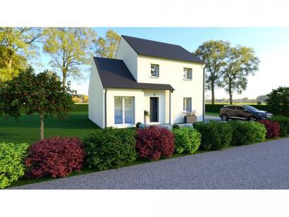 Maison neuve  à  Rouziers-de-Touraine (37360)  - 217200 € * : photo 1