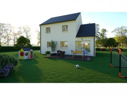 Maison neuve  à  Rouziers-de-Touraine (37360)  - 217200 € * : photo 2