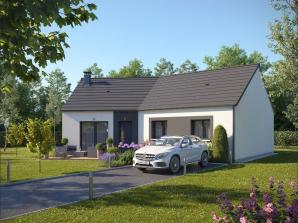 Maison neuve à Clères (76690)<span class='prix'> 189652 €</span> 189652