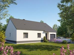 Maison neuve à Clères (76690)<span class='prix'> 169865 €</span> 169865
