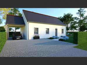 Maison neuve à Cormery (37320)<span class='prix'> 186400 €</span> 186400