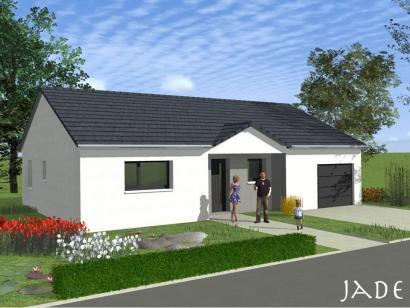 Maison neuve  à  Amnéville (57360)  - 205900 € * : photo 1