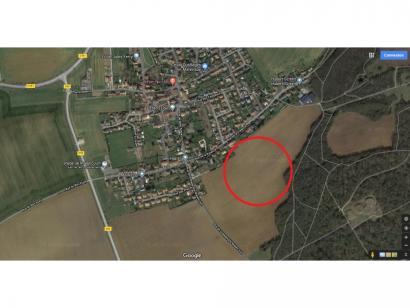 Terrain à vendre  à  Amnéville (57360)  - 77000 € * : photo 1