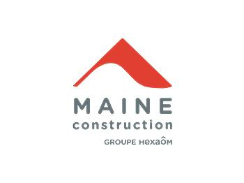 Logo Maine Construction