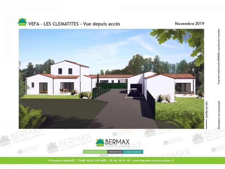 Modèle de maison Vente maison neuve 3 chambres - Les villas LES CLE : Vignette 1