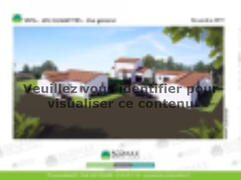 Modèle de maison Vente maison neuve 3 chambres - Les villas LES CLE : Vignette 2