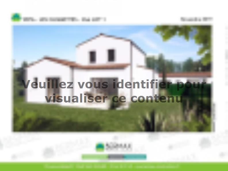 Modèle de maison Vente maison neuve 3 chambres - Les villas LES CLE : Vignette 3