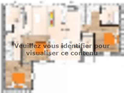 Plan de maison PPL1996-3 3 chambres  : Photo 1