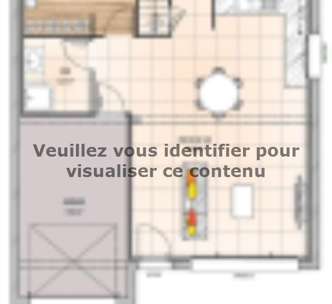 Plan de maison RCA1992-1GI : Vignette 1
