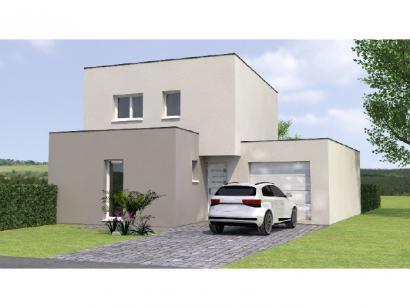 Modèle de maison R1TT2097-4GA 4 chambres  : Photo 1