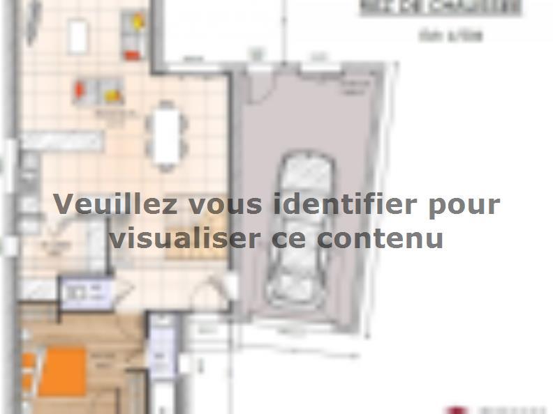 Plan de maison R1TT2097-4GA : Vignette 1