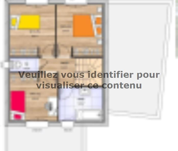 Plan de maison R1TT2097-4GA : Vignette 2
