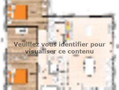 Plan de maison PP2080-2B 2 chambres  : Photo 1