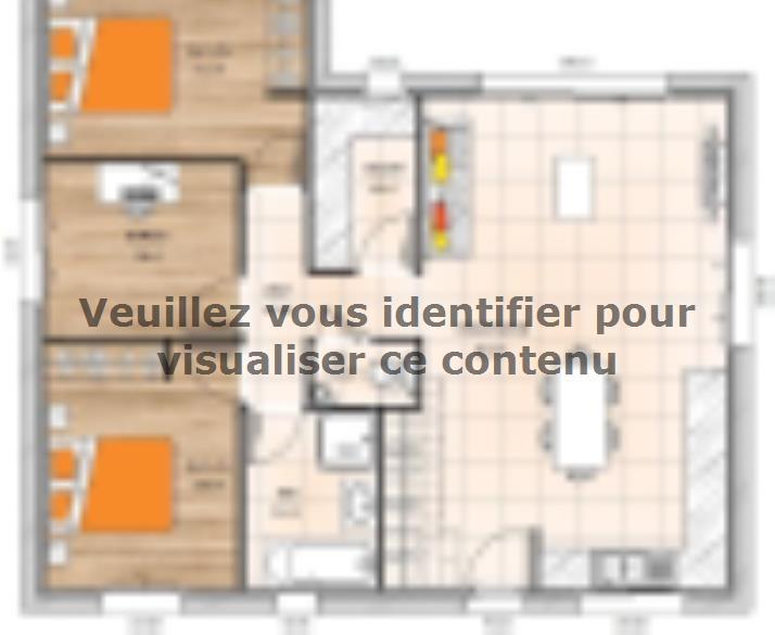 Plan de maison PP2080-2B : Vignette 1
