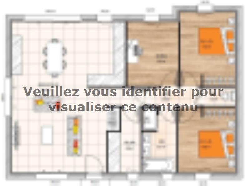 Plan de maison PP20106-2B : Vignette 1