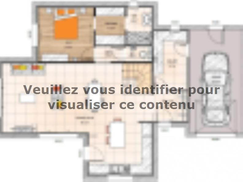Plan de maison R120125-4GA : Vignette 1