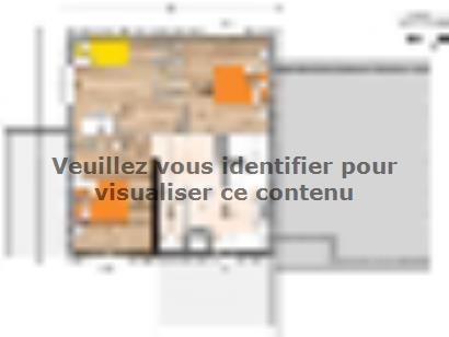 Plan de maison R120125-4GA 4 chambres  : Photo 2