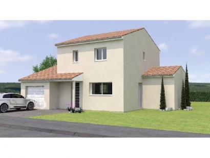 Modèle de maison R119106-4GI 3 chambres  : Photo 1