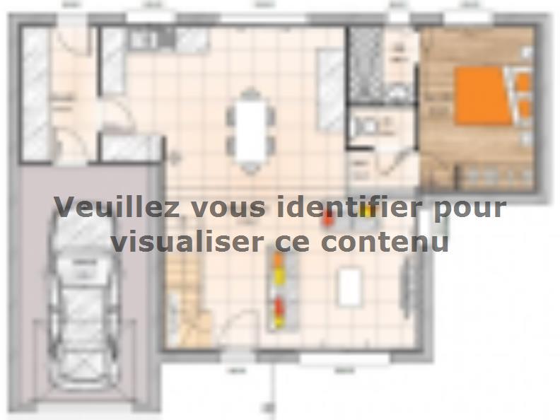 Plan de maison R119106-4GI : Vignette 1