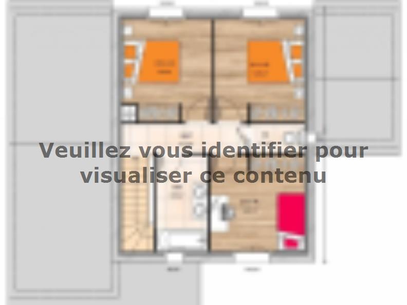 Plan de maison R119106-4GI : Vignette 2