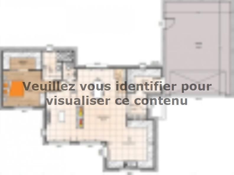 Plan de maison R119150-4GA : Vignette 1
