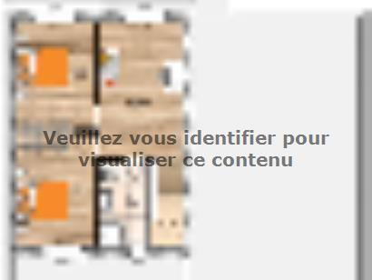 Plan de maison R120124-3M-GI 3 chambres  : Photo 2