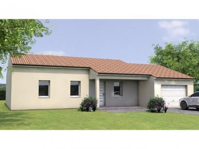 Modèle de maison PP1995-3GA 3 chambres  : Photo 1