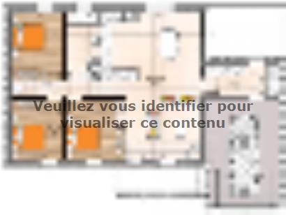 Plan de maison PP1995-3GA 3 chambres  : Photo 1