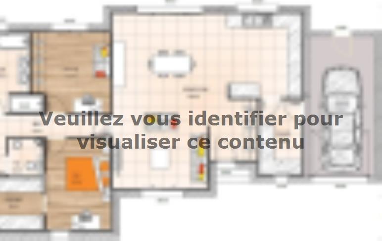 Plan de maison PPMP19124-4GA : Vignette 1