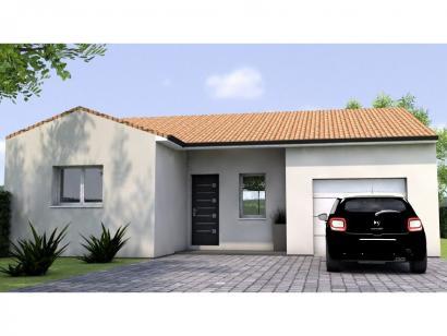 Modèle de maison PP1993-3GI 3 chambres  : Photo 1