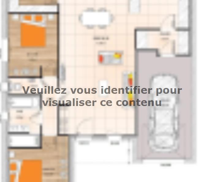 Plan de maison PP1993-3GI : Vignette 1