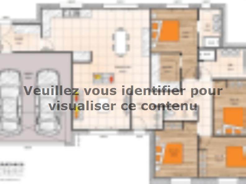 Plan de maison PPL19127-4GI : Vignette 1