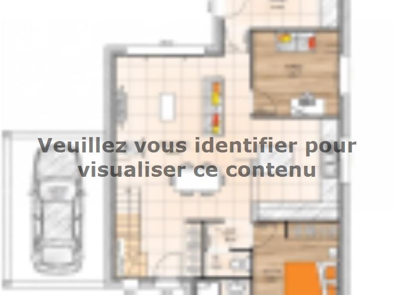 Plan de maison R119132-5B : Vignette 1