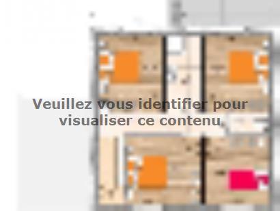 Plan de maison R119132-5B 5 chambres  : Photo 2
