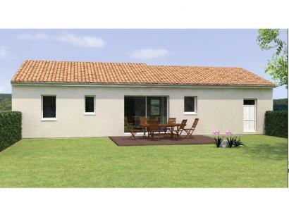 Modèle de maison PP1990-3GI 3 chambres  : Photo 2