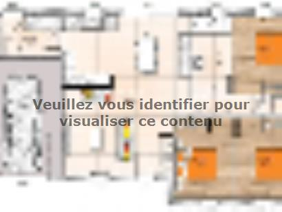 Plan de maison PP1990-3GI 3 chambres  : Photo 1