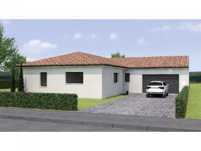 Modèle de maison PPL19117-3BGI 3 chambres  : Photo 1