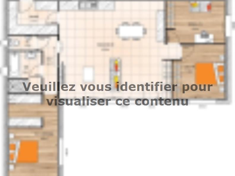 Plan de maison PPLMP19102-2B : Vignette 1