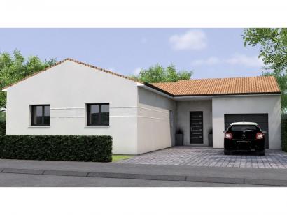 Modèle de maison PPL1996-3GI 3 chambres  : Photo 1