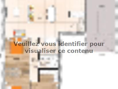 Plan de maison PPL1996-3GI 3 chambres  : Photo 1