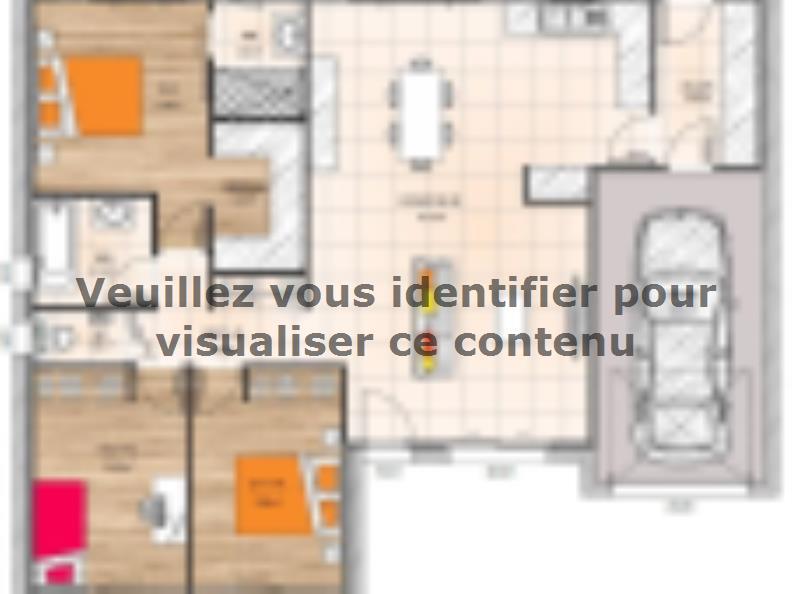 Plan de maison PP1997-3GI : Vignette 1