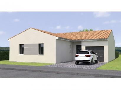 Modèle de maison PP19106-3GI 3 chambres  : Photo 1